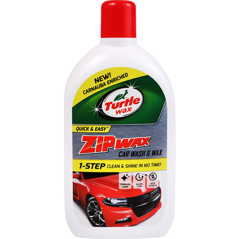 Turtle Wax Zip Wax - Car Wash & Wax