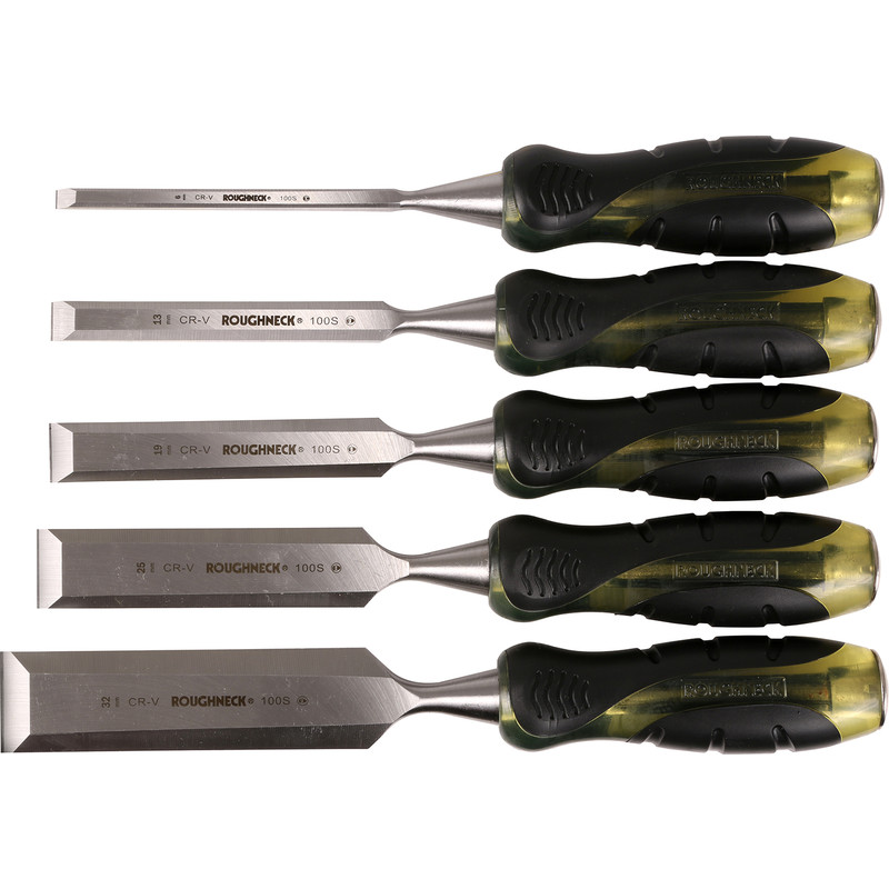 Roughneck Wood Chisel Set