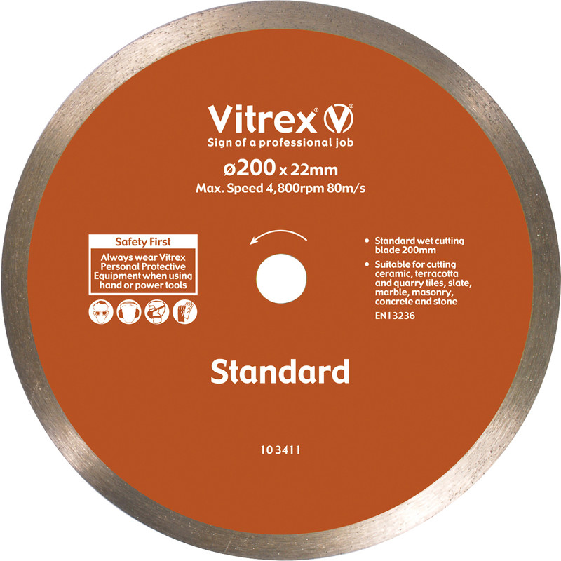 Vitrex Tile & Ceramic Cutting Diamond Blade