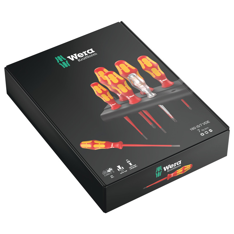 Wera Kraftform Plus Extra-Slim VDE Screwdriver Set