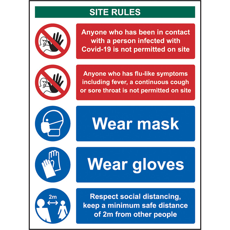 Covid-19 Workplace Safety Sign