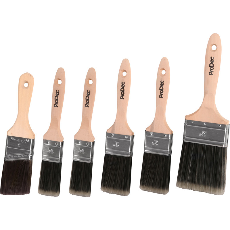 Prodec Trojan Synthetic Paintbrush Set