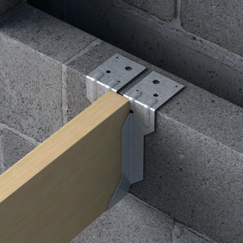 Timber to Masonry Joist Hanger