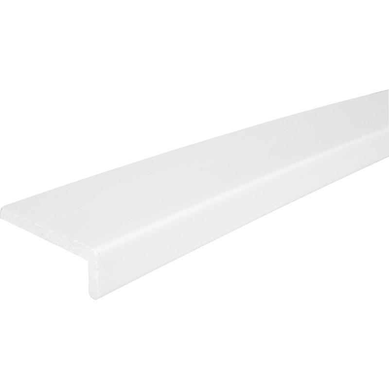 9mm White Cover Fascia Board