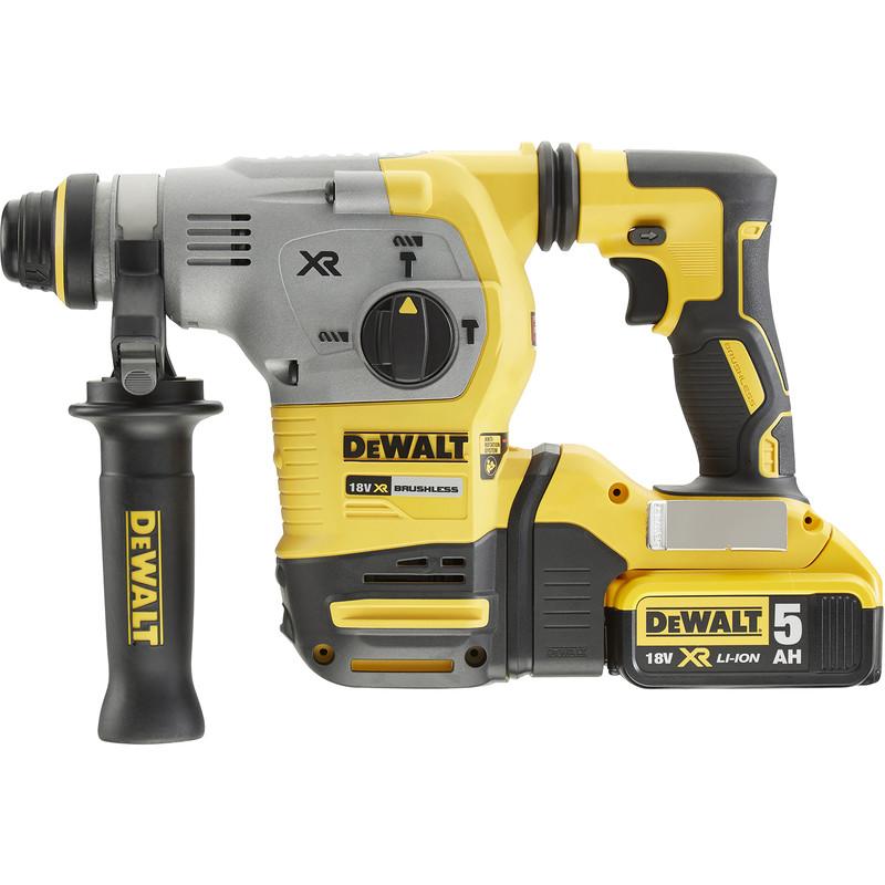 DeWalt DCH283P2-GB 18V XR Brushless 26mm 2KG SDS Plus Hammer