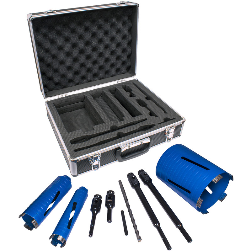 Professional Dry Diamond Core Drill Kit