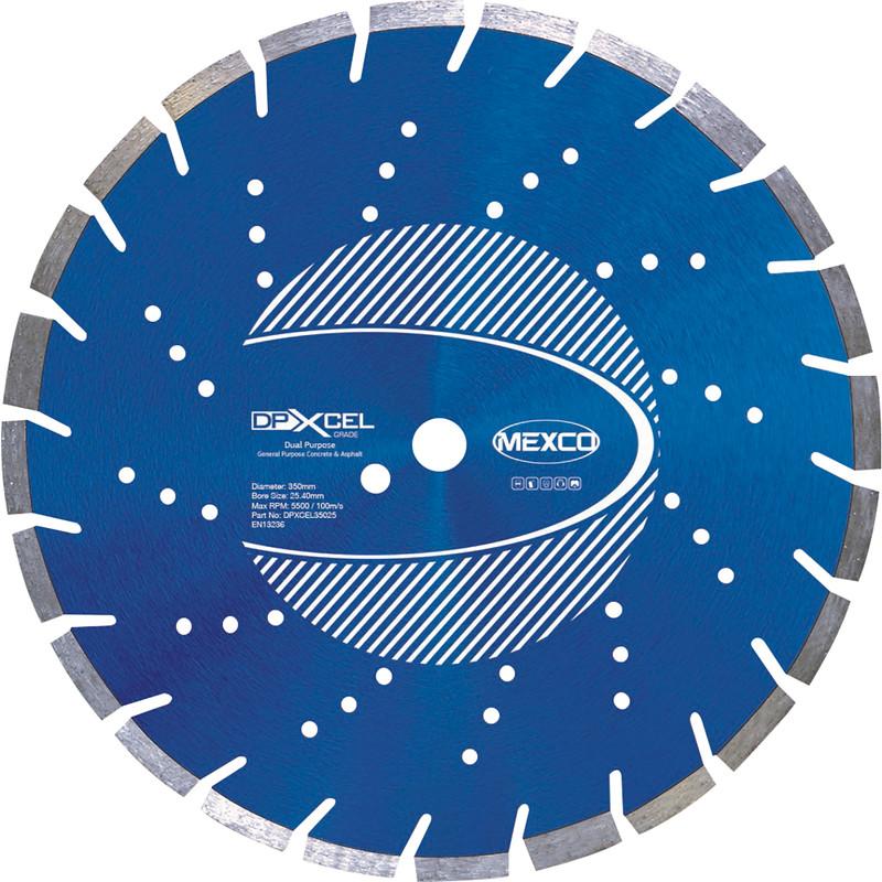 Mexco Concrete & Asphalt Cutting Diamond Blade