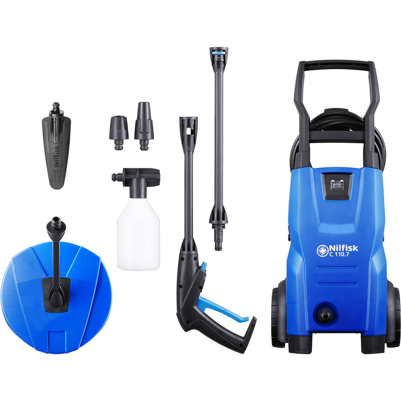 Nilfisk Compact Home & Auto Pressure Washer C 110.7-5 PCA X-TRA