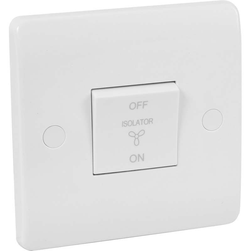 Click Mode 10A Fan Isolator Switch