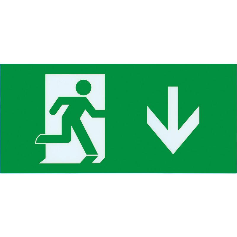 Integral LED Slimline IP20 LED Emergency Exit Sign Box