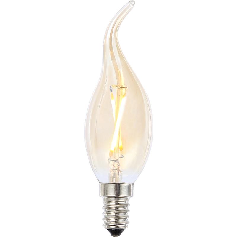 Vintage LED Flame Tip Candle Bulb Lamp