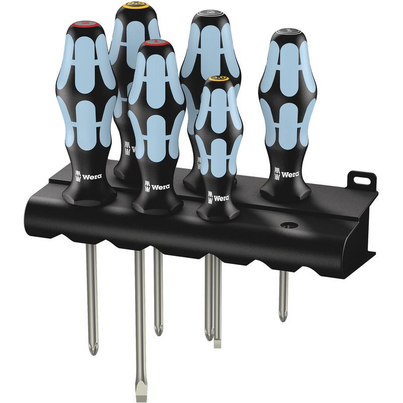 Wera Kraftform Stainless Steel Screwdriver Set