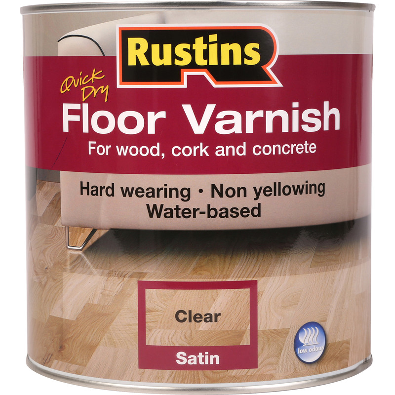 Rustins Quick Dry Floor Varnish 2.5L