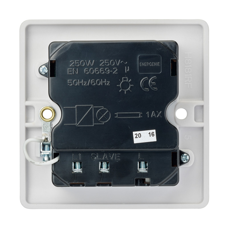 Energenie MiHome Smart Light Switch 1 Gang Dimmer