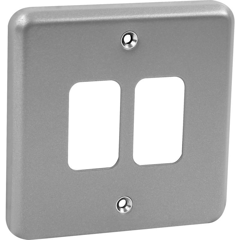 MK Grid Plus Metal Front Plate
