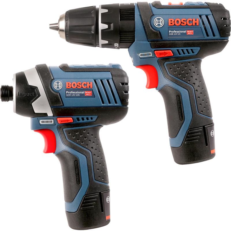Bosch Gsb 12 V 15 Gdr 105 12v Cordless Combi Drill