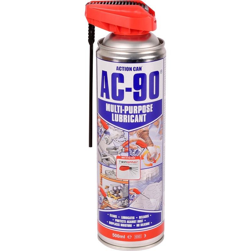 Action Can AC-90 Twinspray Lubricant