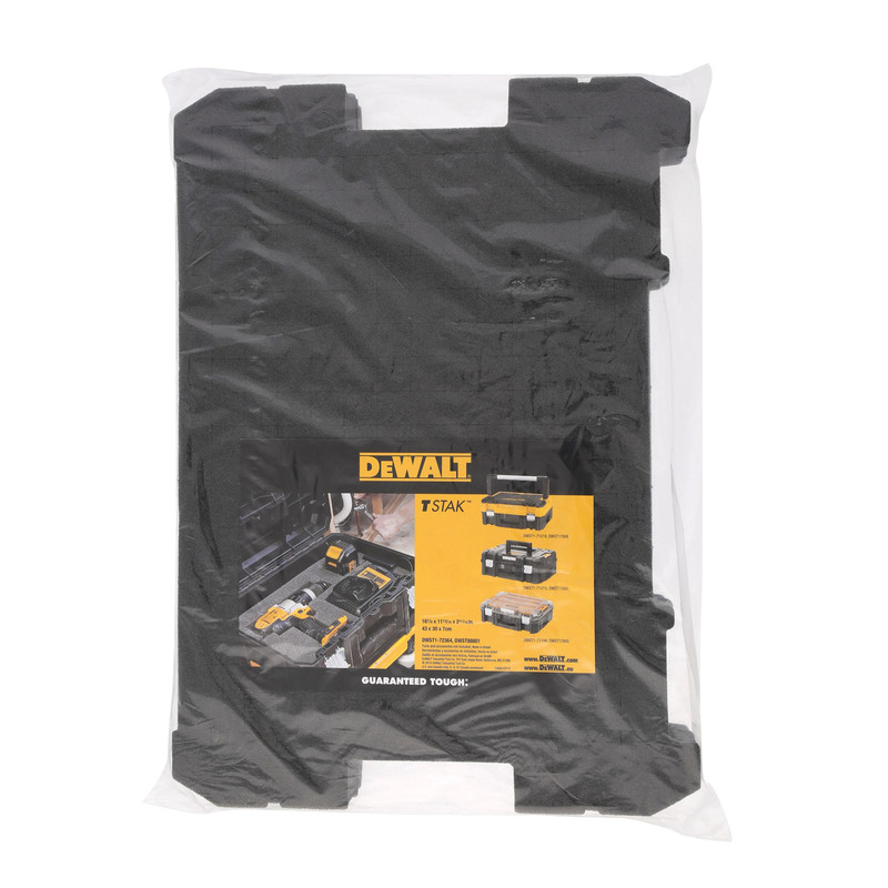 DeWalt TSTAK Foam Inlay