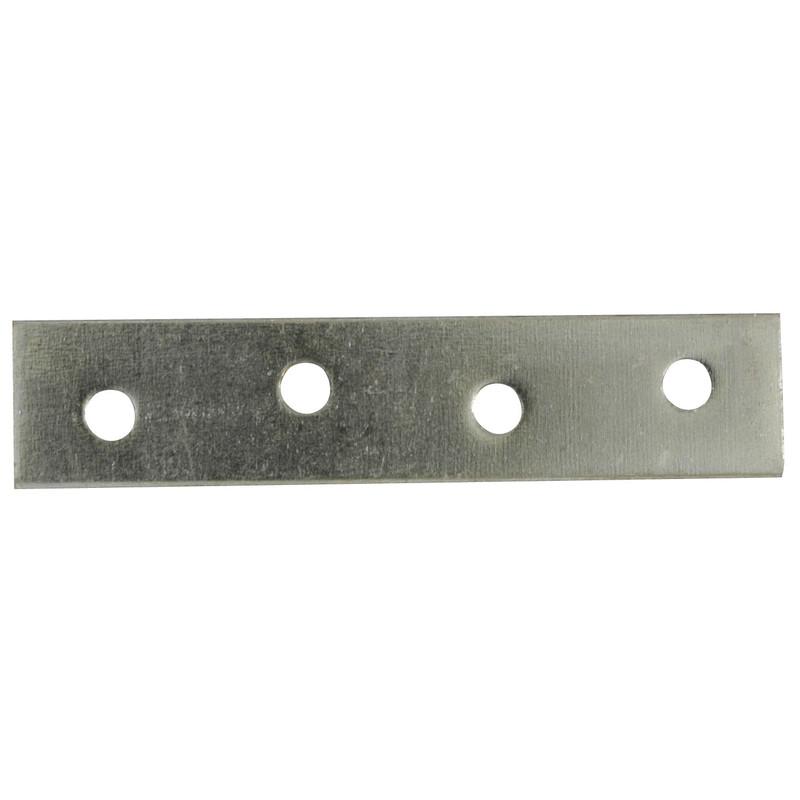 4   Steel Mending Plates 100mm fixing repair plates