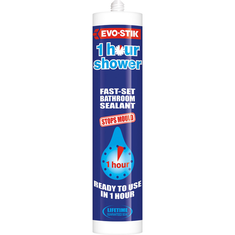 Evo-Stik Trade One Hour Sanitary Silicone
