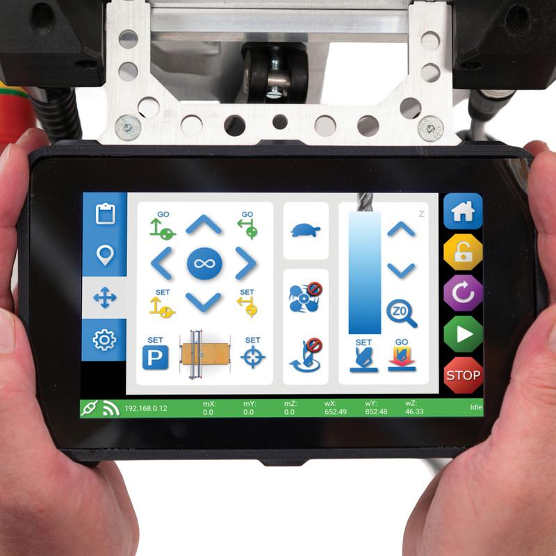 Trend Yeti CNC Precision Pro Smartbench with V-Carve Software & Vac