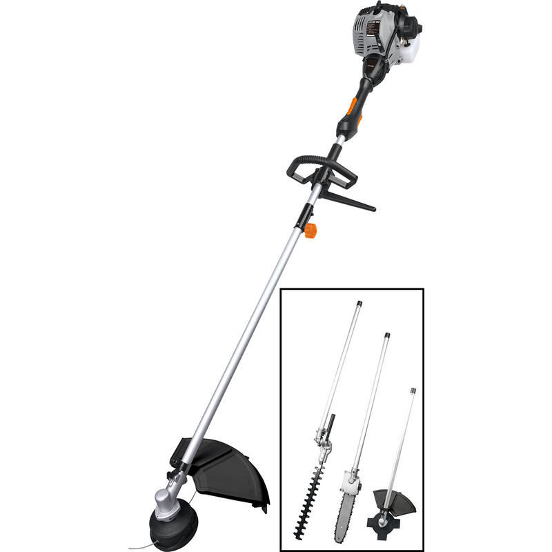 Garden Power Tools Careful 2019 New High Quality Petrol Brush Cutter Grass Cutter 2 In1 With 52cc Petrol Engine Multi Brush Trimmer Strimmer Tree Cutter