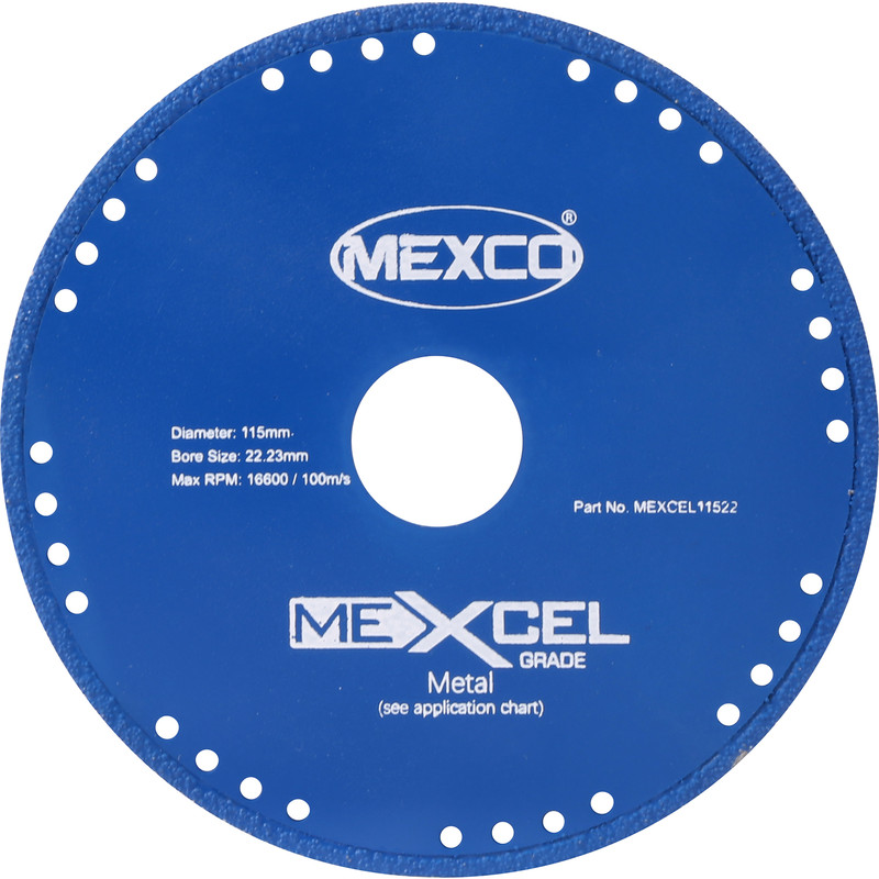 Mexcel Metal Cutting Diamond Blade