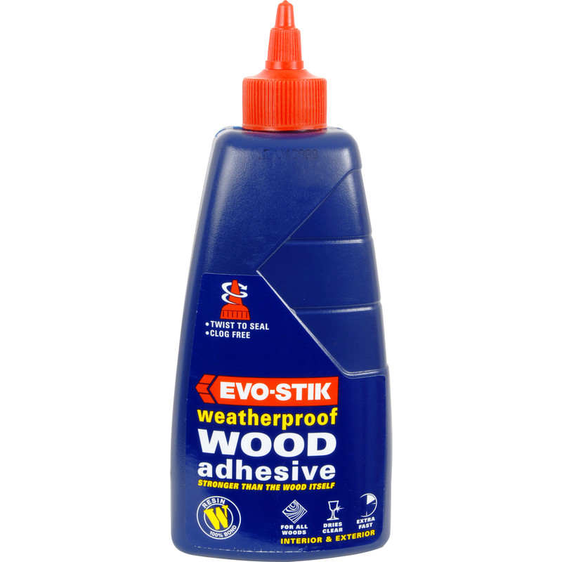 Evo-Stik Exterior Resin W Wood Glue