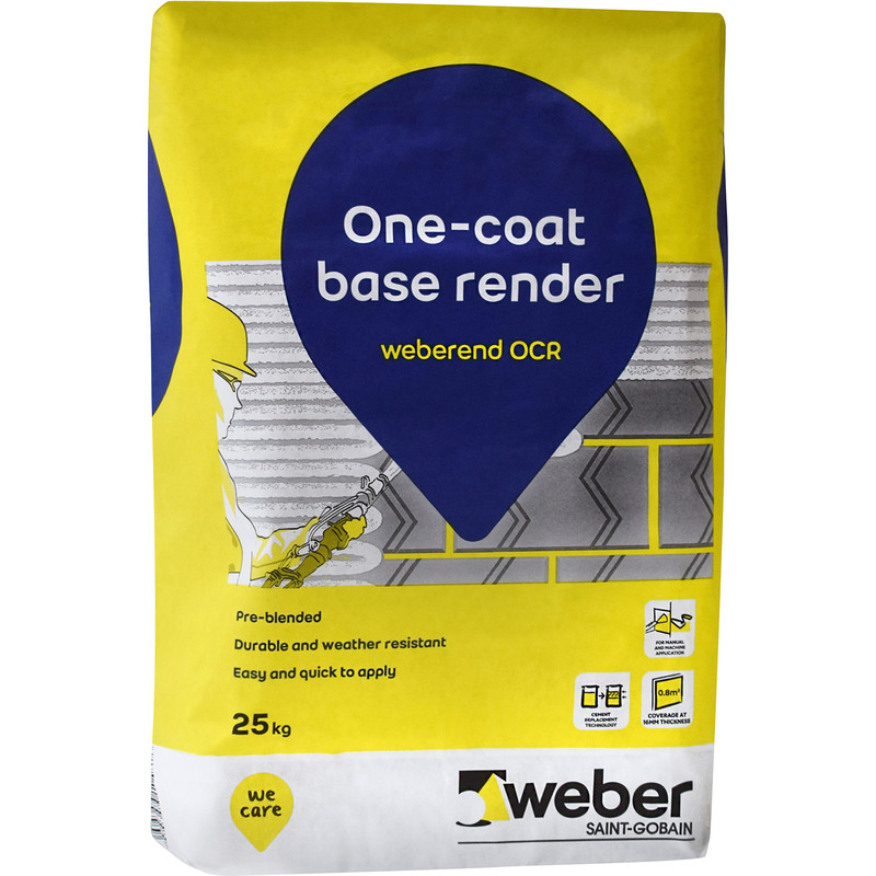 Weber One Coat Base Render