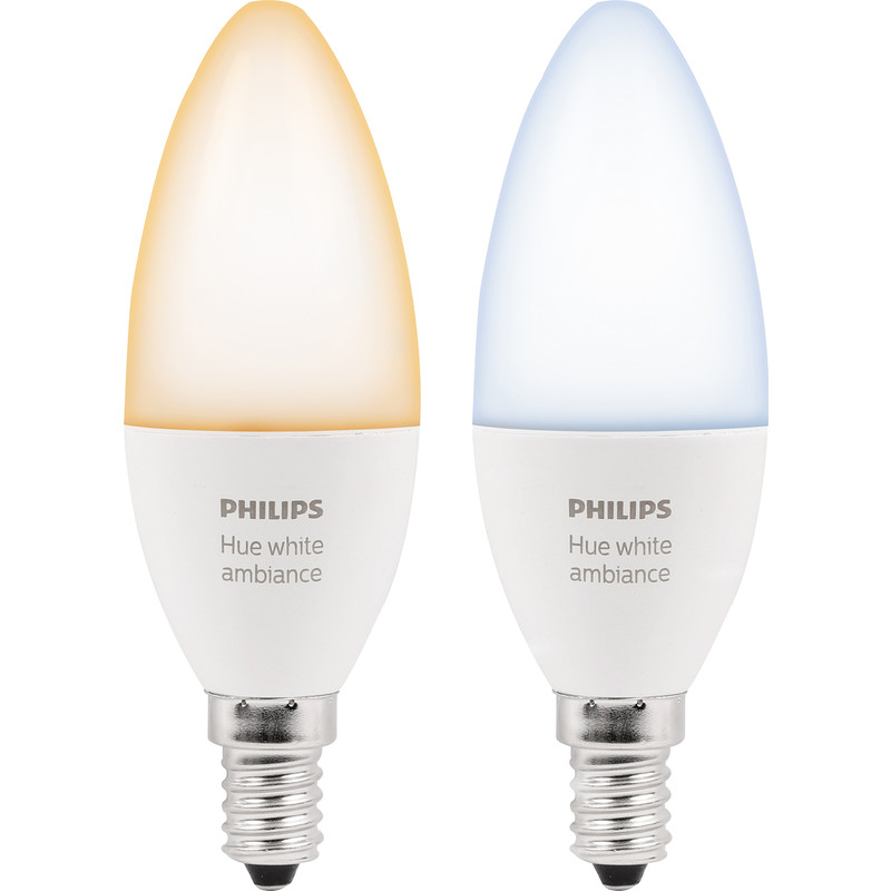 Philips Hue White Ambiance Candle Lamp