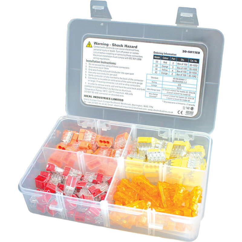 Ideal Industries Push-In Connector Installer Kit