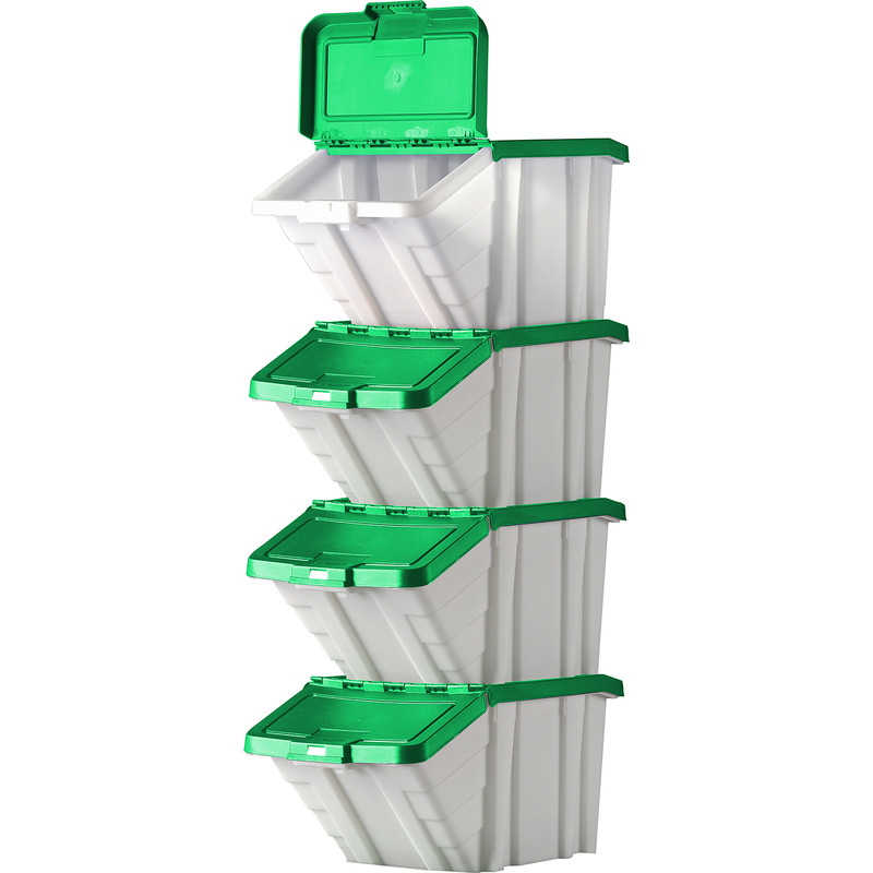 Robust Storage Bin 50L with Lid