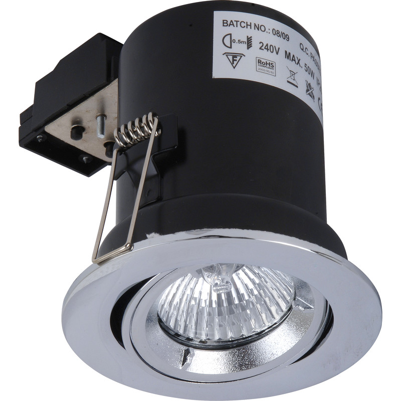 Fire Rated Cast Adjustable GU10 Downlight