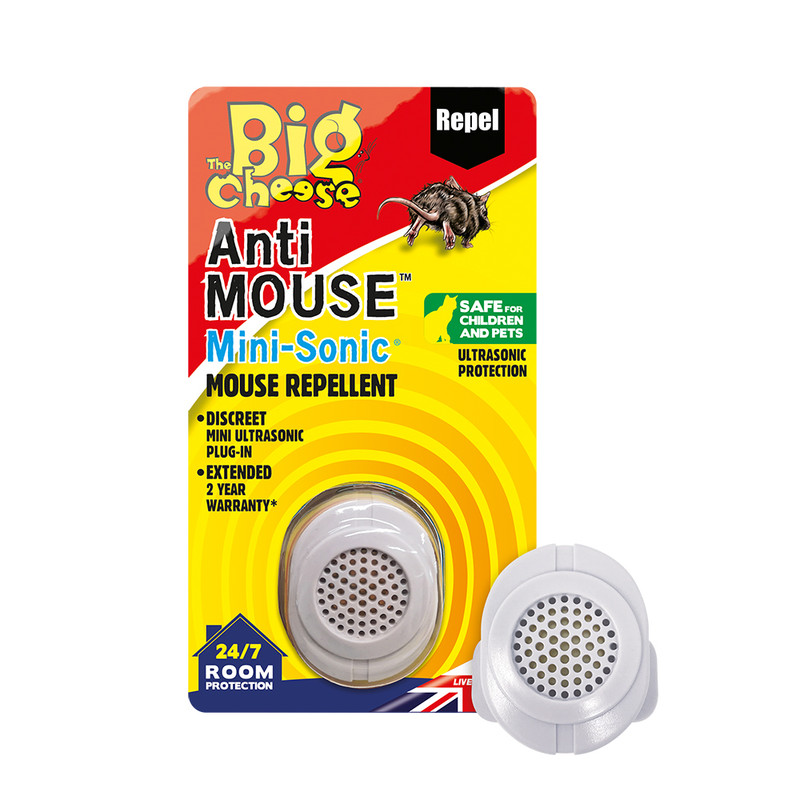The Big Cheese Anti Mouse Mini-Sonic Repeller