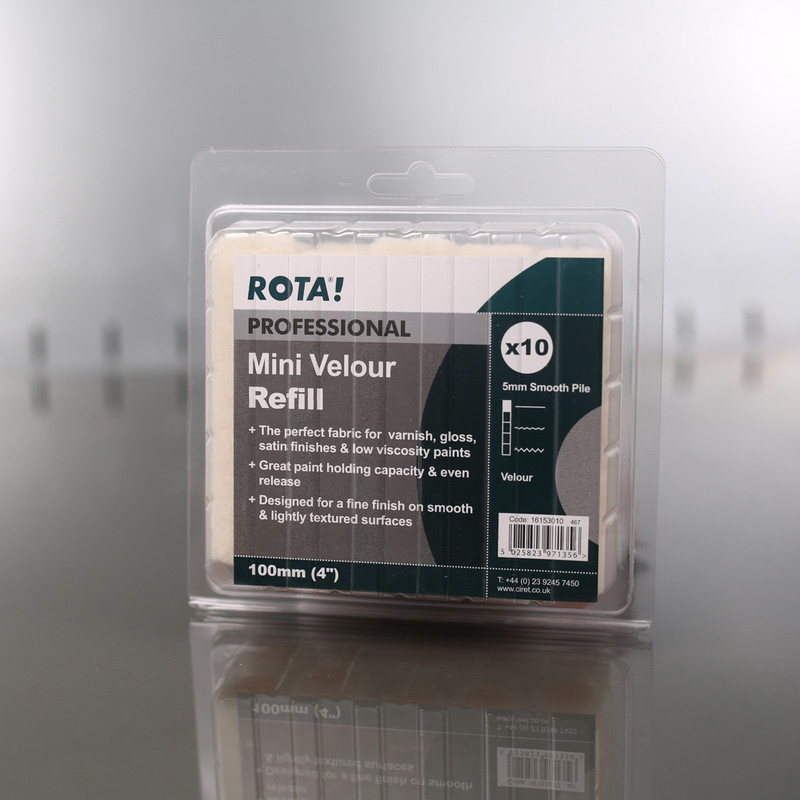 Rota Professional Velour Roller Sleeves