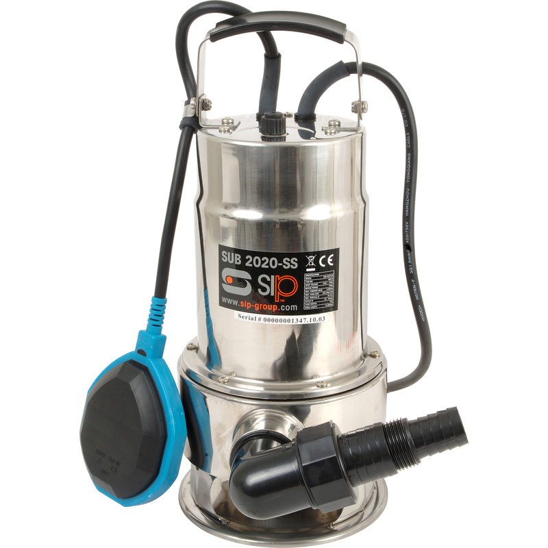 SIP 06819 750W Submersible 2020 Stainless Steel Water Pump