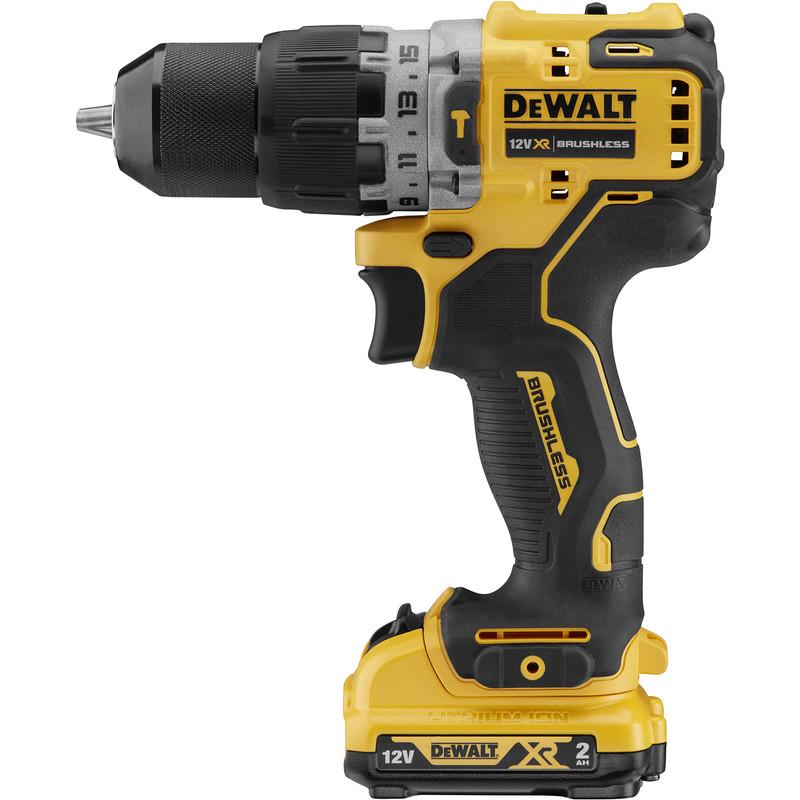 DeWaltDCD706D2-GB12V XR Sub-Compact Hammer Drill Driver