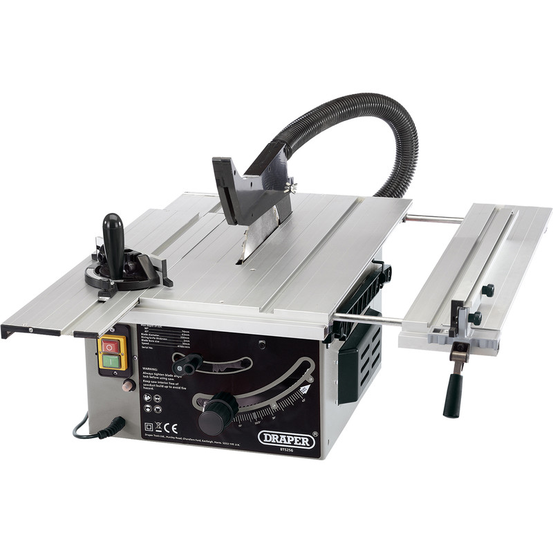 Draper 250mm 1800W Sliding Table Saw