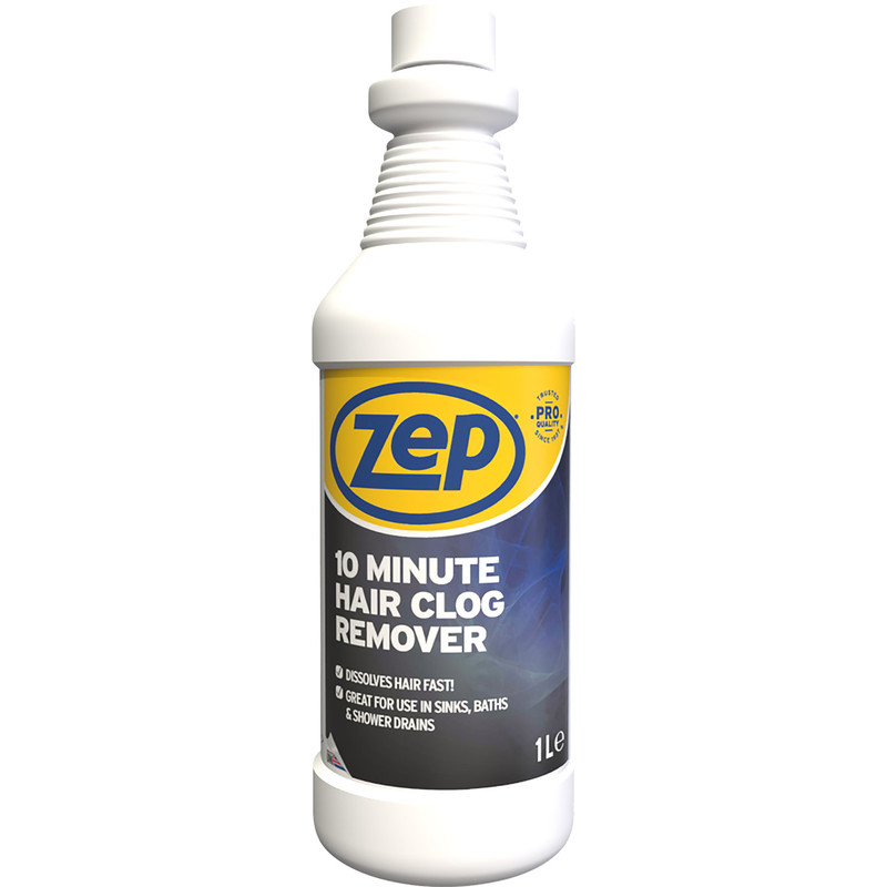 Zep Commercial 10 Minute Hair Clog Drain Unblocker