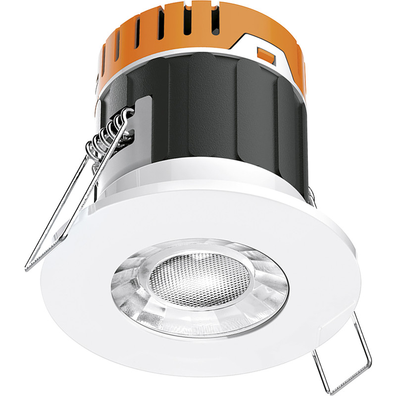 Enlite E5 4.5W Fixed Dimmable IP65 Fire Rated LED Downlight