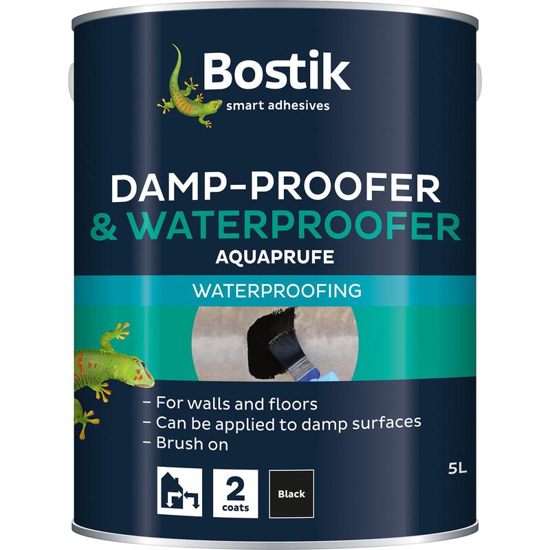 Bostik Aquaprufe Damp Proofer & Waterproofer