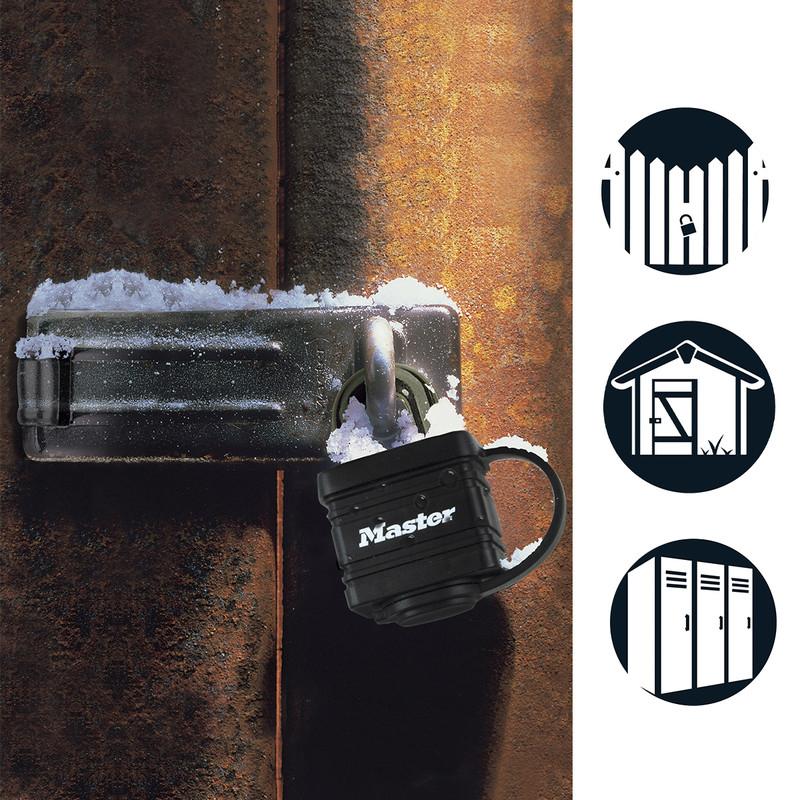 Master Lock Weather Tough Laminated Steel Padlock