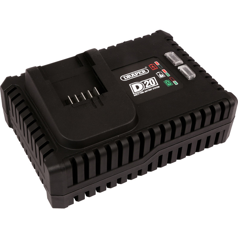 Draper D20 20V Fast Battery Charger