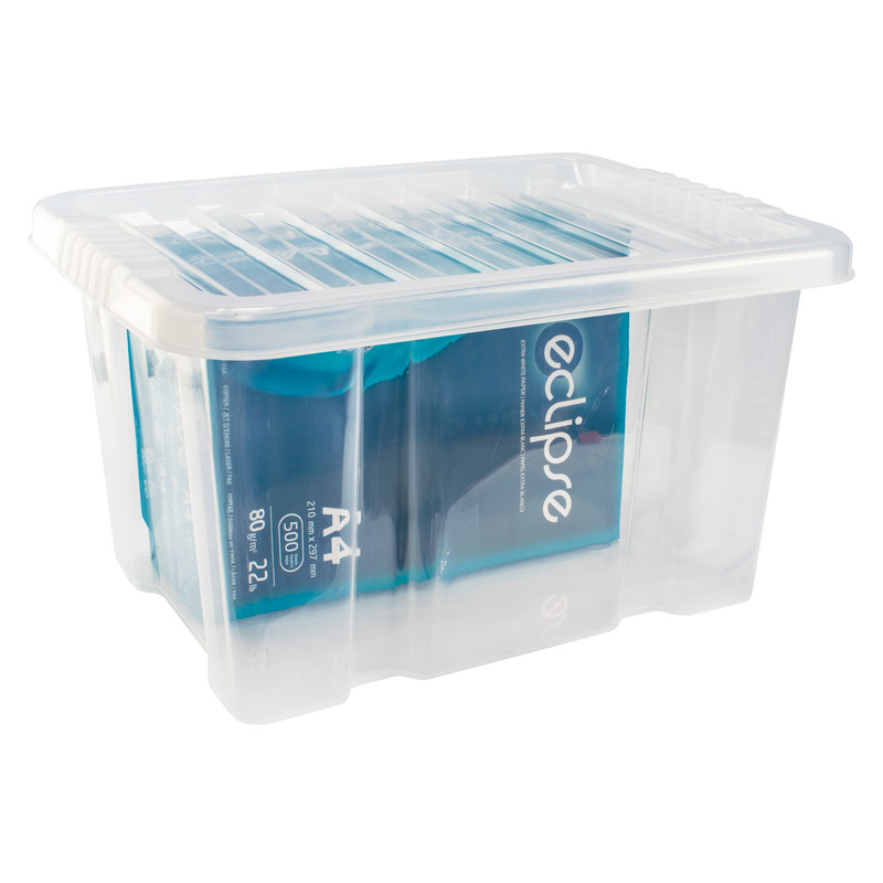 Plastic Container with Clip On Lid
