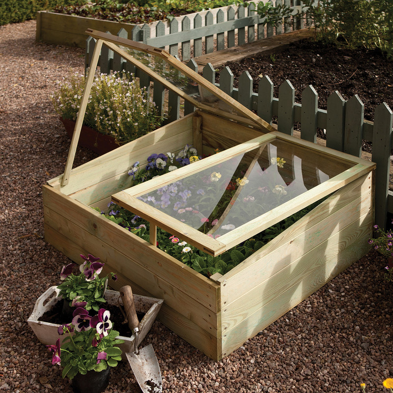 Rowlinson Timber Coldframe