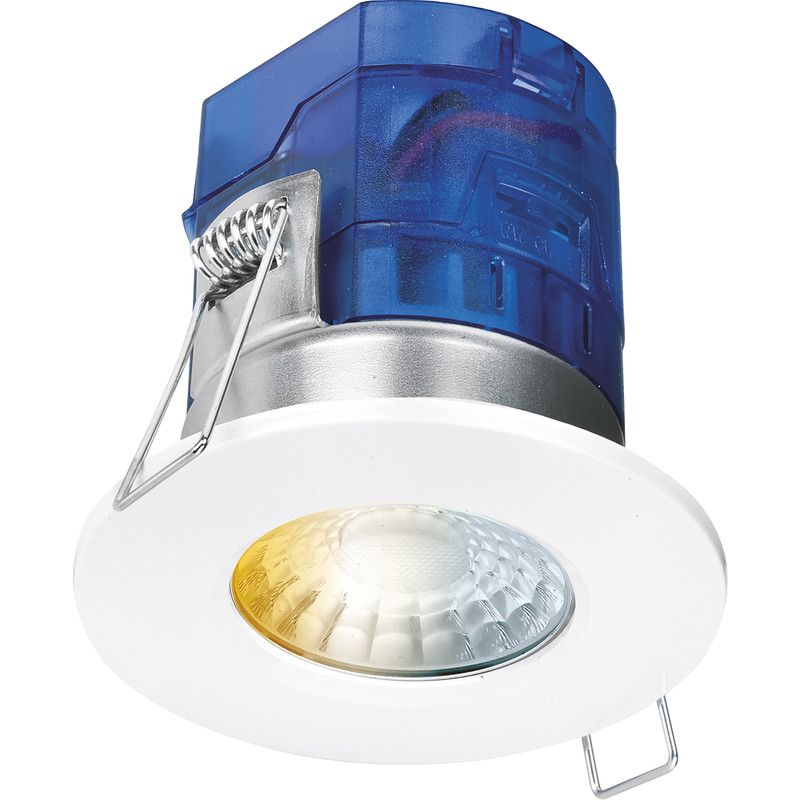 Aurora CX7 Fixed 7W Dimmable Fire Rated IP65 LED CCT Downlight