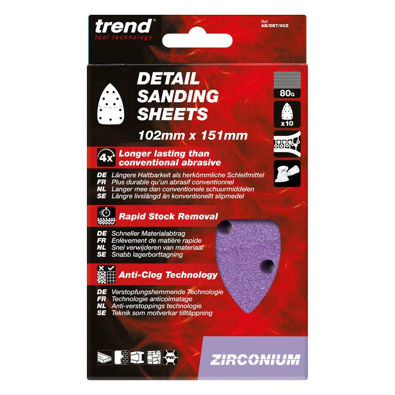 Trend Detail Sanding Sheet 102mm x 151mm