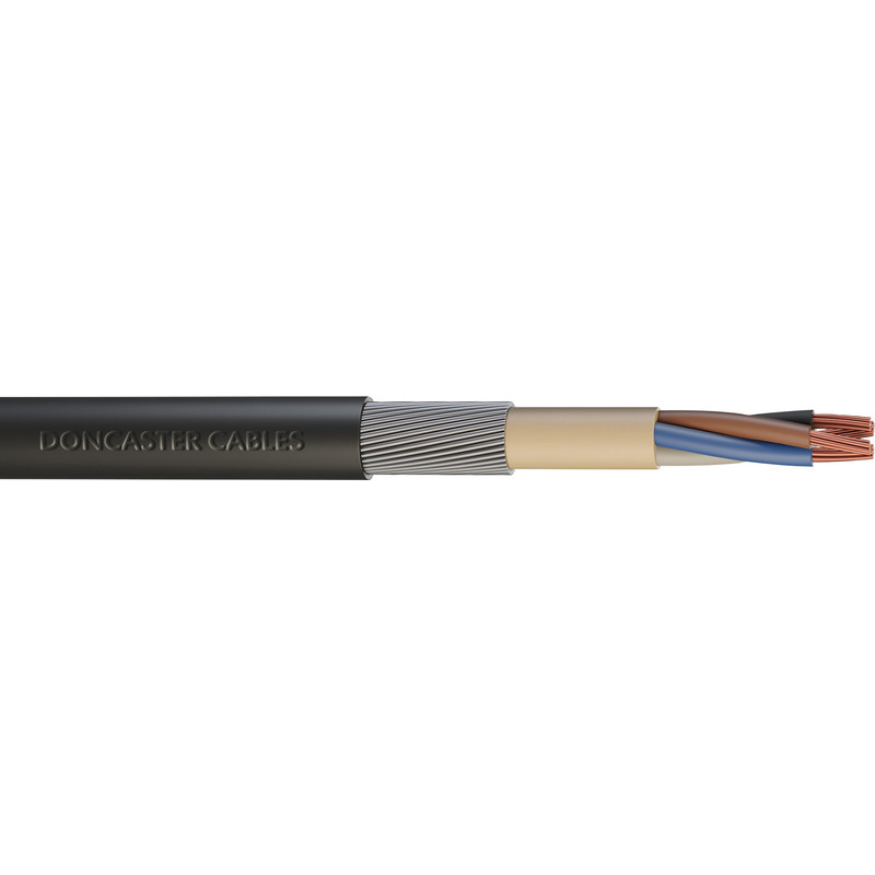 Doncaster Cables SWA Armoured Cable 4mm2 x 4 Core