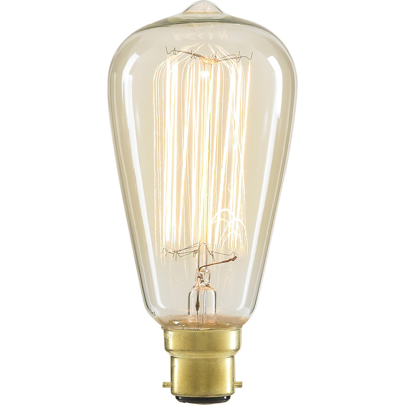 ST64 Vintage Incandescent Decorative Dimmable Lamp