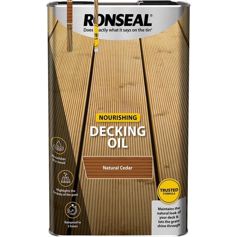 Ronseal Decking Oil 5L